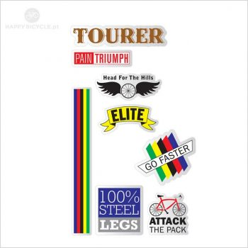 Bicycle Stickers - ROADIE 13