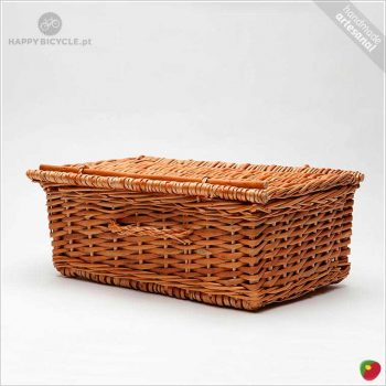 Rectangular Wicker Basket 7