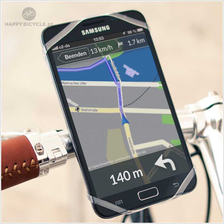 Suporte Telemóvel Universal para bicicleta