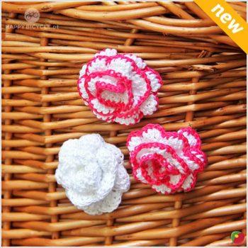 Flores coloridas Crochet 2