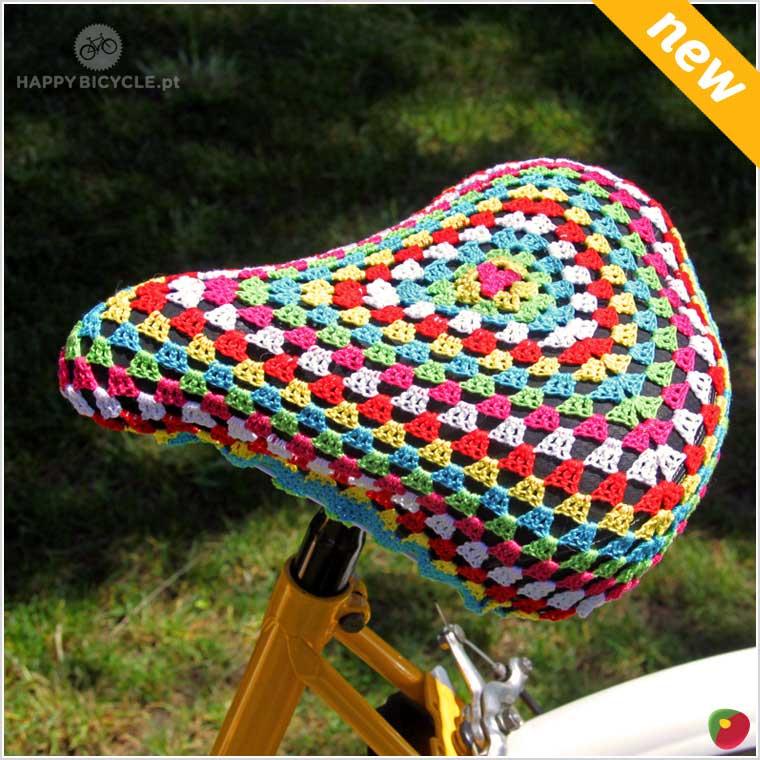 Crochet Saddle Cover 10