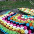 Crochet Saddle Cover 7