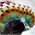 Crochet Saddle Cover 4