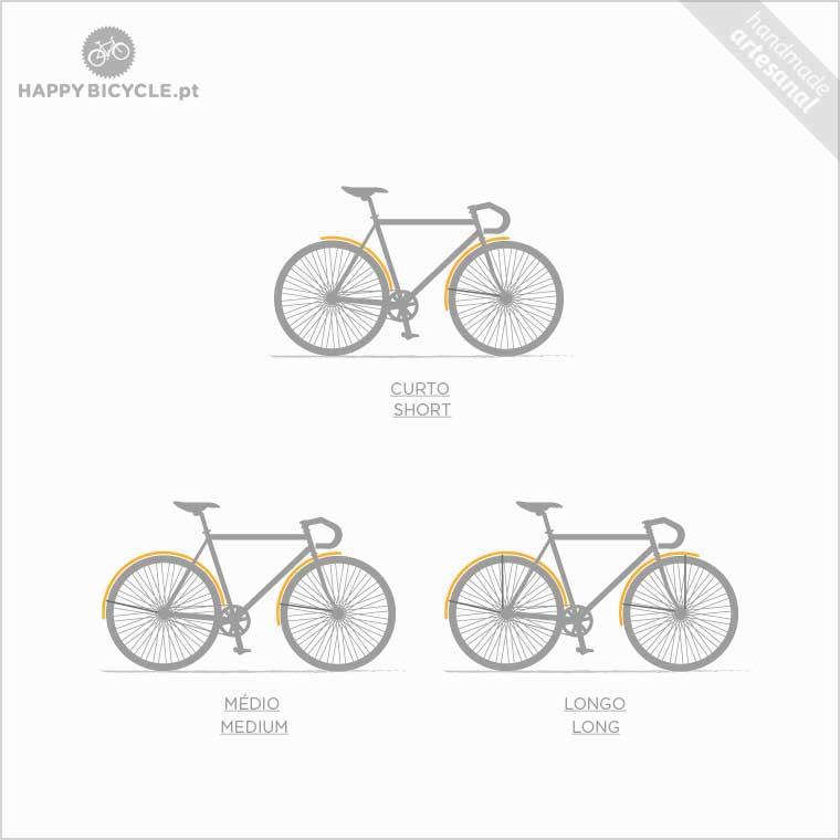 Wooden bicycle Fenders
