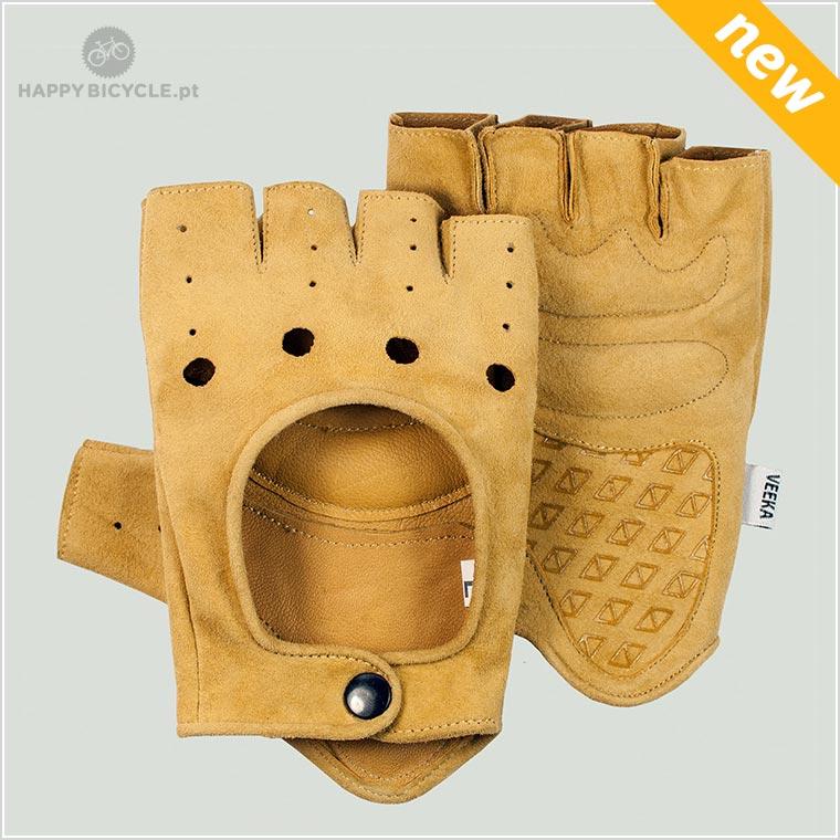 Vintage Gloves suede