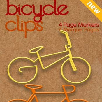 BIKE CLIPS - ORANGE 3