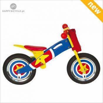 Captain America Wooden Balance Bike 1