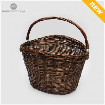 Oval Wicker Basket - Brown 11