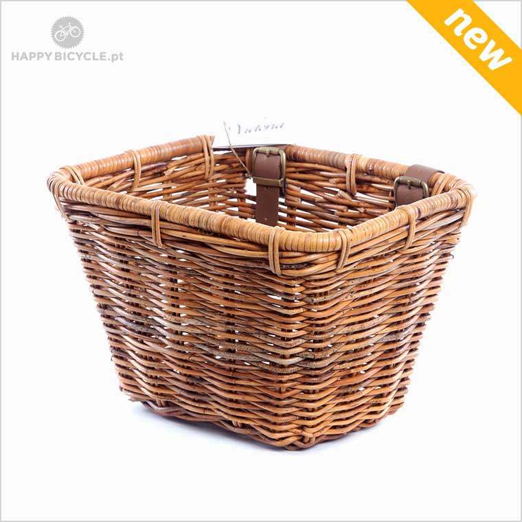 Bicycle Square Wicker Basket
