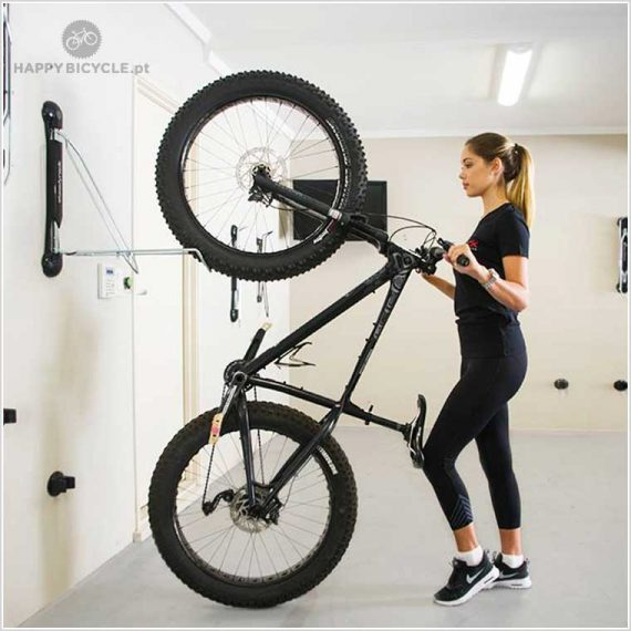 Suporte Parede Vertical Steady Fat Bike