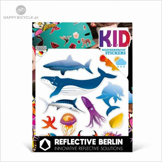 Autocolantes Reflectores - KIDS - marítimo