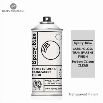 spraybike transparent finish